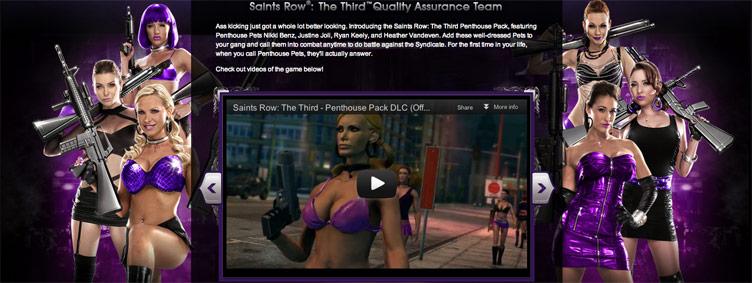 Penthouse Pets DLC - THQ